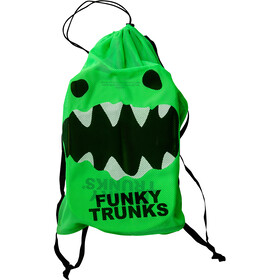 Funky Trunks Mesh Gear Bag Väska Herr grön/svart